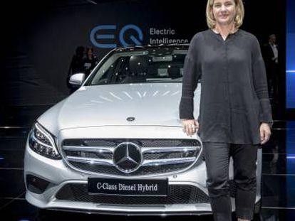 Brita Seeger, máxima responsable de Ventas y Marketing de Mercedes Benz Auto.