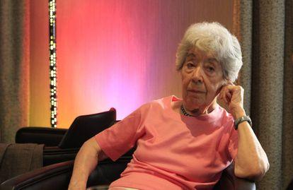 Aurora Bernárdez, en Madrid en mayo de 2010.