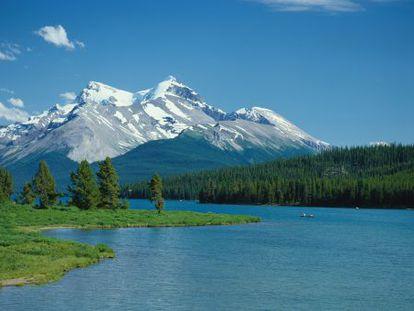 Las montañas Rocosas, en el Estado de Alberta (Canadá).