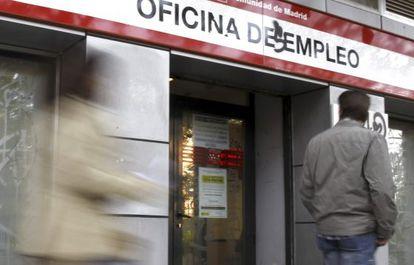 Una oficina de empleo de Madrid