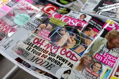 Kate Middleton en la portada de la revista Closer en 2012.