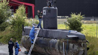 La Fiscalía danesa ha pedido que se destruya el submarino que inventó Peter Madsen.