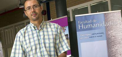 Jorge López Puga, profesor asociado de la Universidad de Almería.
