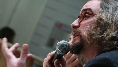 Jorge Lago, uno de los responsables del Consejo Ciudadano Estatal de Podemos.