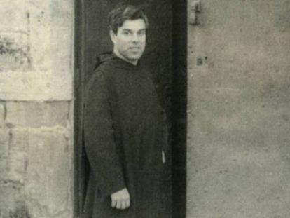 Andreu Soler en una fotografía del libro 'L'escoltisme i Montserrat'.