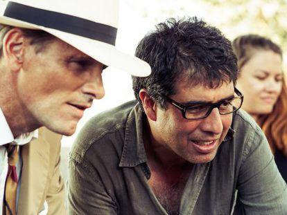 Viggo Mortensen y Hossein Amini, en el rodaje.