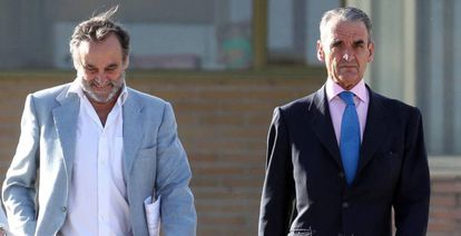 Mario Conde, al salir de prisión en junio del año pasado.