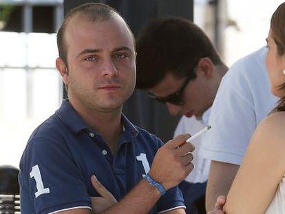 Ángel Carromero, el 5 de septiembre en los Cursos de Verano de la Universidad Complutense en El Escorial.