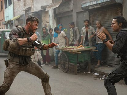Chris Hemsworth, en 'Tyler Rake'.
