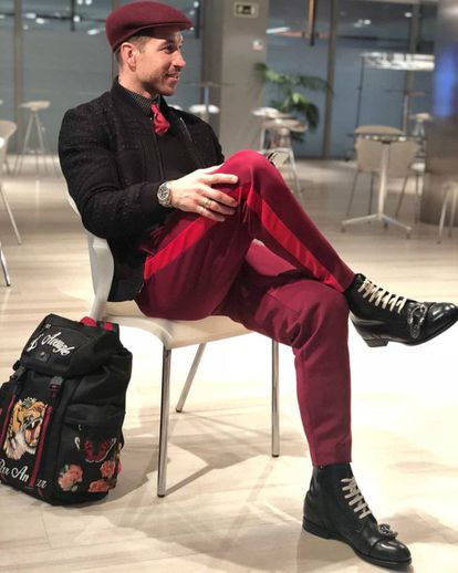 Sergio Ramos ha ido afinando y perfeccionando su estilo desde la primera vez que lo vimos, pero nunca se ha convertido en un tipo aburrido.