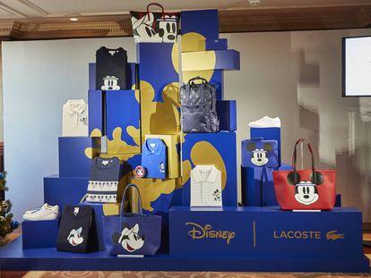 La colección de Lacoste en homenaje a Mickey Mouse.