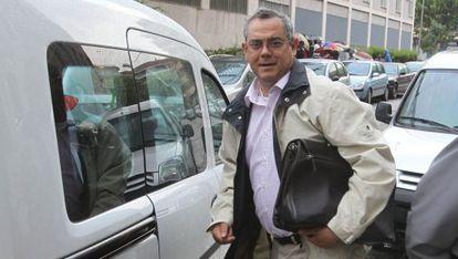 Manuel Ortiz, en los juzgados de Córdoba hace tres años.