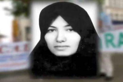 Imagen de la CNN de Sakineh Mohammadi Ashtiani.