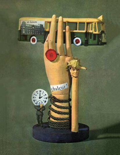 Collage de Jacques Carelman para la edición de 1963 de 'ejercicios de estilo', de Raymond Queneau