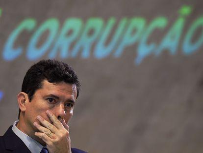 El exjuez Sergio Moro, a finales de 2018 antes de su ingreso en el Gobierno de Jair Bolsonaro.