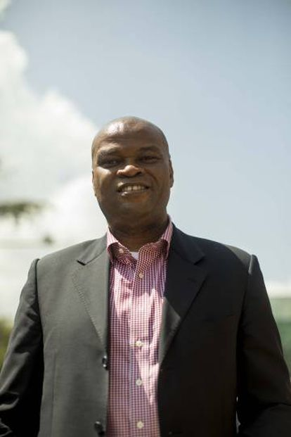 Daniel Monehin, director de Mastercard en África subsahariana.