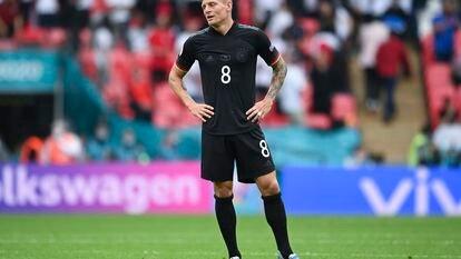 Último partido del internacional alemán Toni Kroos contra Inglaterra en Wembley.