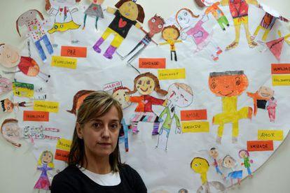 Monica Permuy, vicepresidenta de la Rede Galega contra a Pobreza.