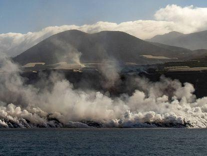 La erupción del volcán de La Palma, en imágenes