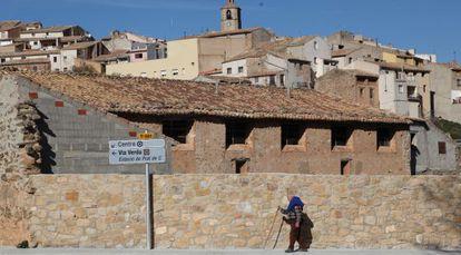 Prat de Comte, en la Terra Alta, tiene solo 164 habitantes.
