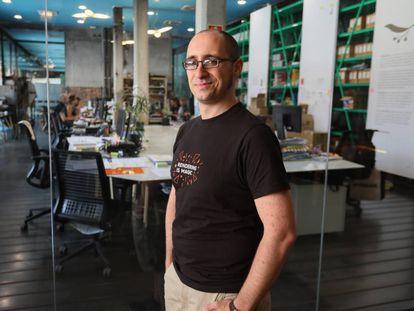 Adrián Jarabo, receptor de una de las becas Leonardo en el área de Tecnologías de la Información y la Comunicación.
