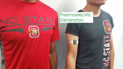 Unos investigadores han desarrollo un nuevo método para convertir el calor corporal en electricidad.