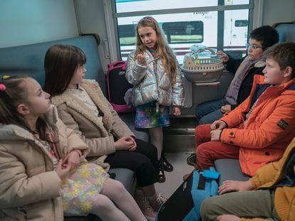 Imagen de 'A todo tren: destino Asturias'.