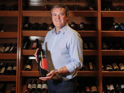 Antonio Reguilón, presidente del Consejo Regulador de la Denominación de Origen Vinos de Madrid, en la sede de este organismo.