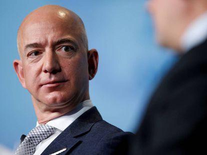 El jefe de Amazon, Jeff Bezos.