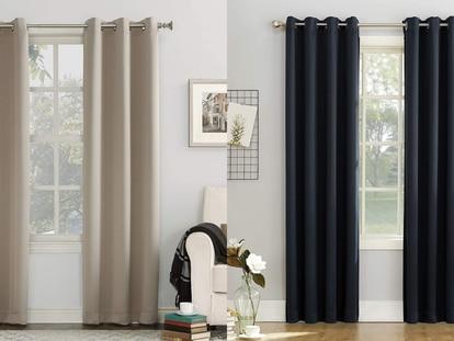 Esta cortina está diseñada para bloquear la luz solar o artificial de tu hogar