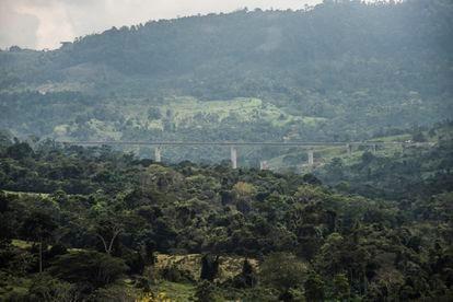 Viaducto de San SIlvestre. Ruta del cacao