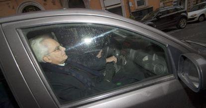 El nuevo presidente italiano, Sergio Mattarella.