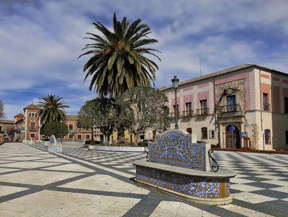 Plaza del Pan en Talavera de la Reina, Toledo.