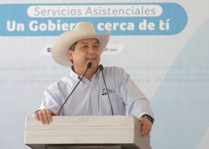 Francisco García Cabeza de Vaca en un acto público.