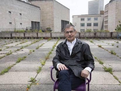 Juan Fernández Krohn, en Bruselas.