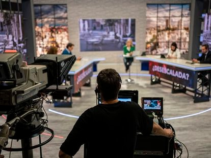 Una emisión del programa de Telemadrid 120 minutos, el 12 de febrero.