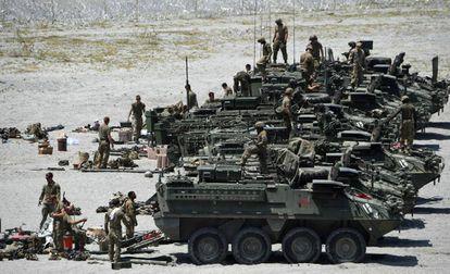 El gasto militar mundial escala a su máximo por el impulso de EE UU   Internacional   EL PAÍS