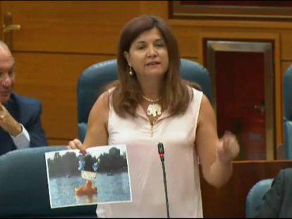 """Una diputada regional del PP de Madrid se refiere a Franco como """"el caudillo"""""""