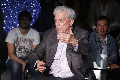 Vargas Llosa en el Foro Internacional del español 2.0.