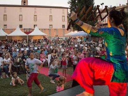 Una de las actividades relacionadas con el festival, el año pasado.