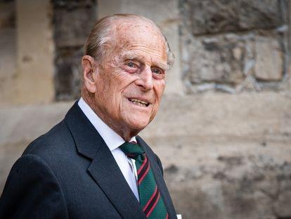 Felipe de Edimburgo.
