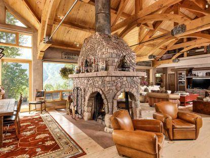La casa de la actriz Melanie Griffith en Aspen, Colorado (Estados Unidos).