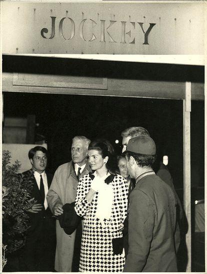 Jackie Kennedy, clienta del Jockey.