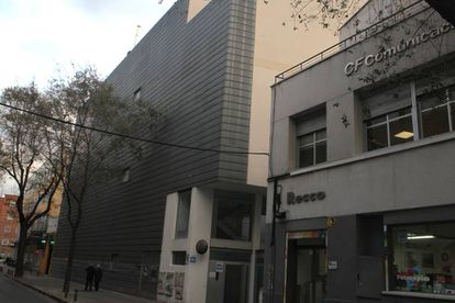 Fachada del edificio de la calle Albarracín, 58.