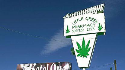 Uno de los dispensarios de cannabis en Denver (Colorado).