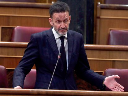 El diputado de Ciudadanos Edmundo Bal interviene en el debate de la quinta prórroga del estado de alarma.