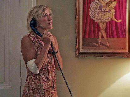 Una imagen de Anna, personaje interpretado por la propia directora y guionista de la película, Valeria Bruni Tedeschi.