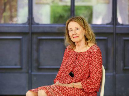 La escritora francesa Annie Ernaux, en Roma en 2016.