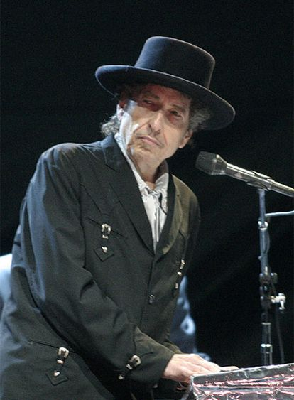 Bob Dylan, en San Sebastián.