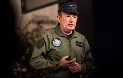 Peter Madsen, el supuesto asesino, en un acto en Copenhague, en mayo pasado.